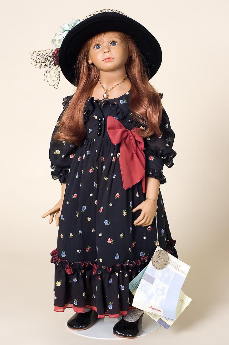 Beret Bill Sigikid Vinyl Soft Body Collectible Doll