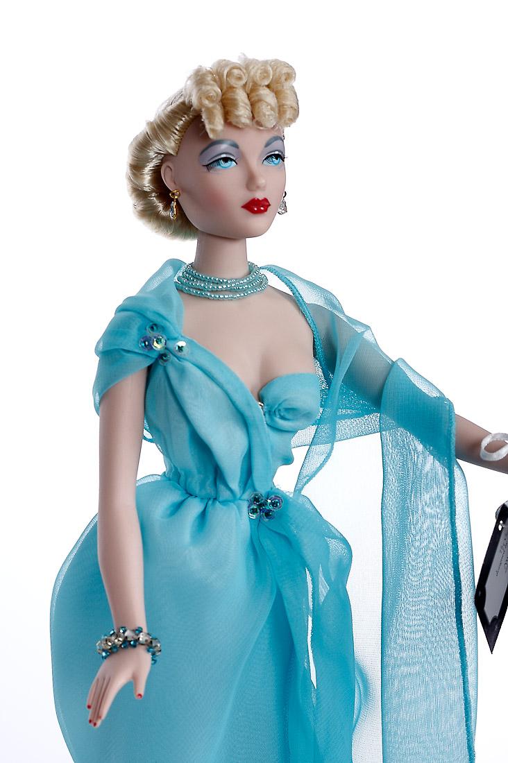 Dolls Fashion Dolls Blue Goddess Gene Doll