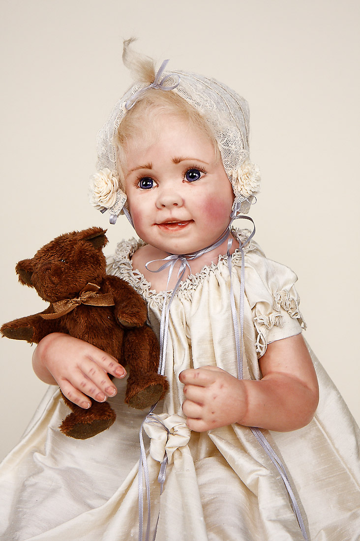 Abbie Other Media Art Doll By Linda Murray
