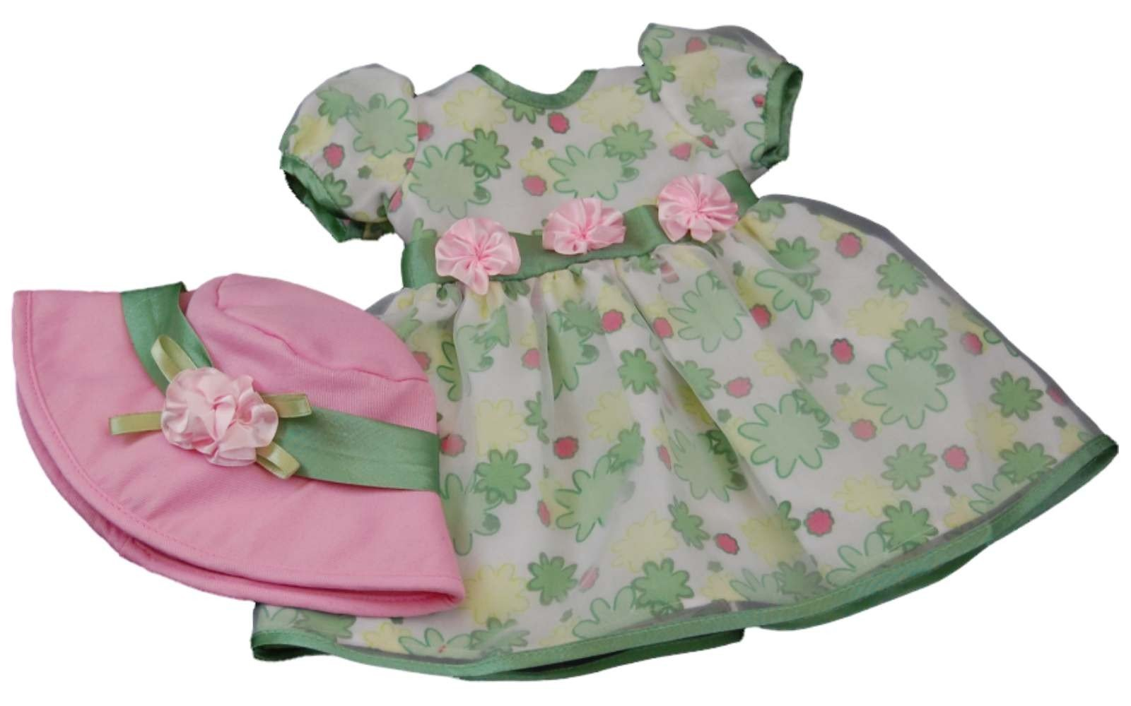 "Pretty Floral Dress For 15"" American Girl Bitty Baby¨ Doll ..."