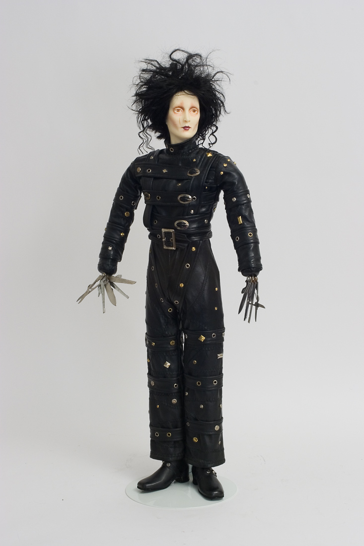 Edward Scissorhands Wax Art Doll By Paul Crees And Peter Coe