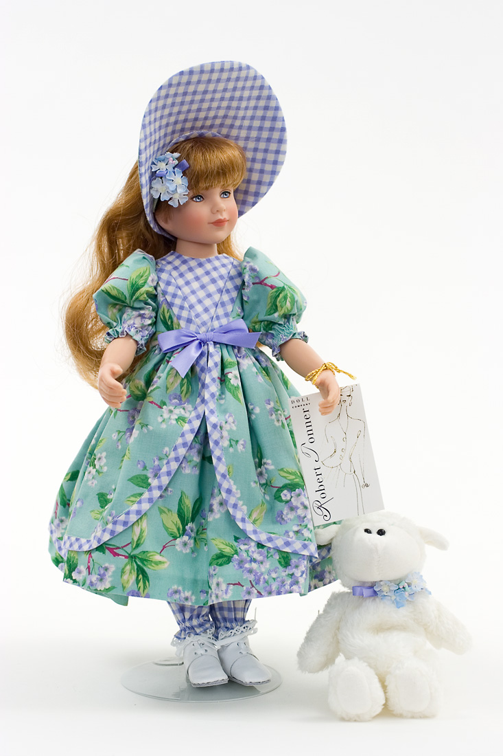 Mary Had A Little Lamb Vinyl Collectible Doll