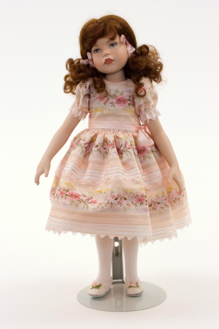 dottie porcelain collectible doll