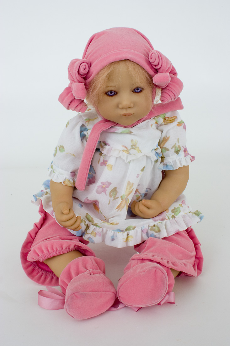 Baby Ivi Vinyl Soft Body Collectible Doll