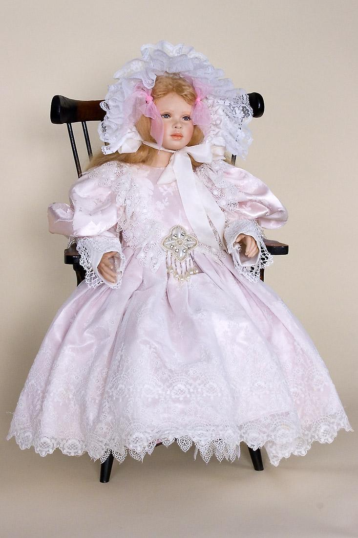 Victorian Shadows Porcelain Soft Body Art Doll By Cindy Koch