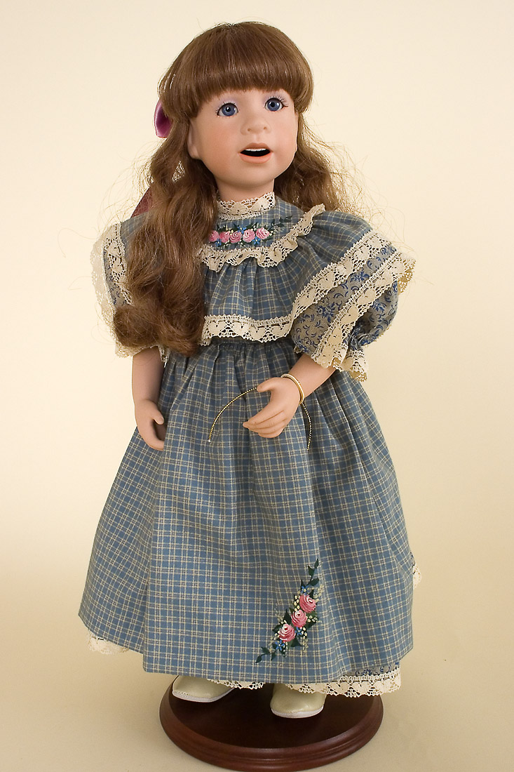 Molly Jo Porcelain Collectible Doll