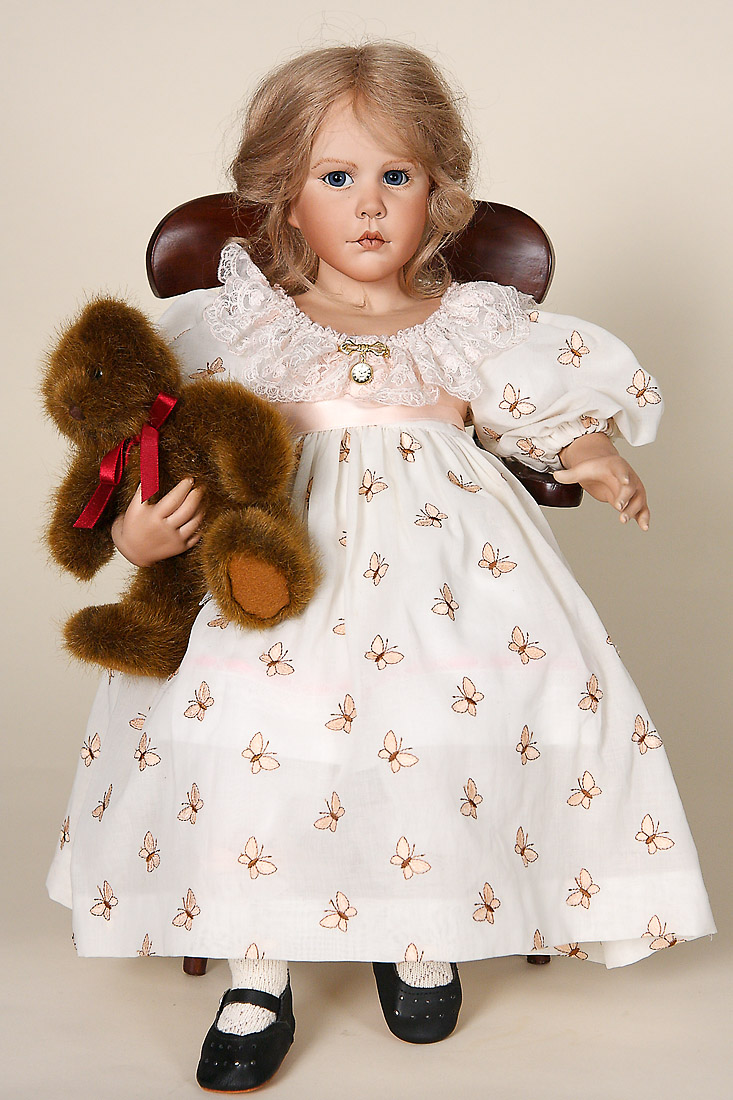 Celeste With Bear Porcelain Soft Body Limited Edition