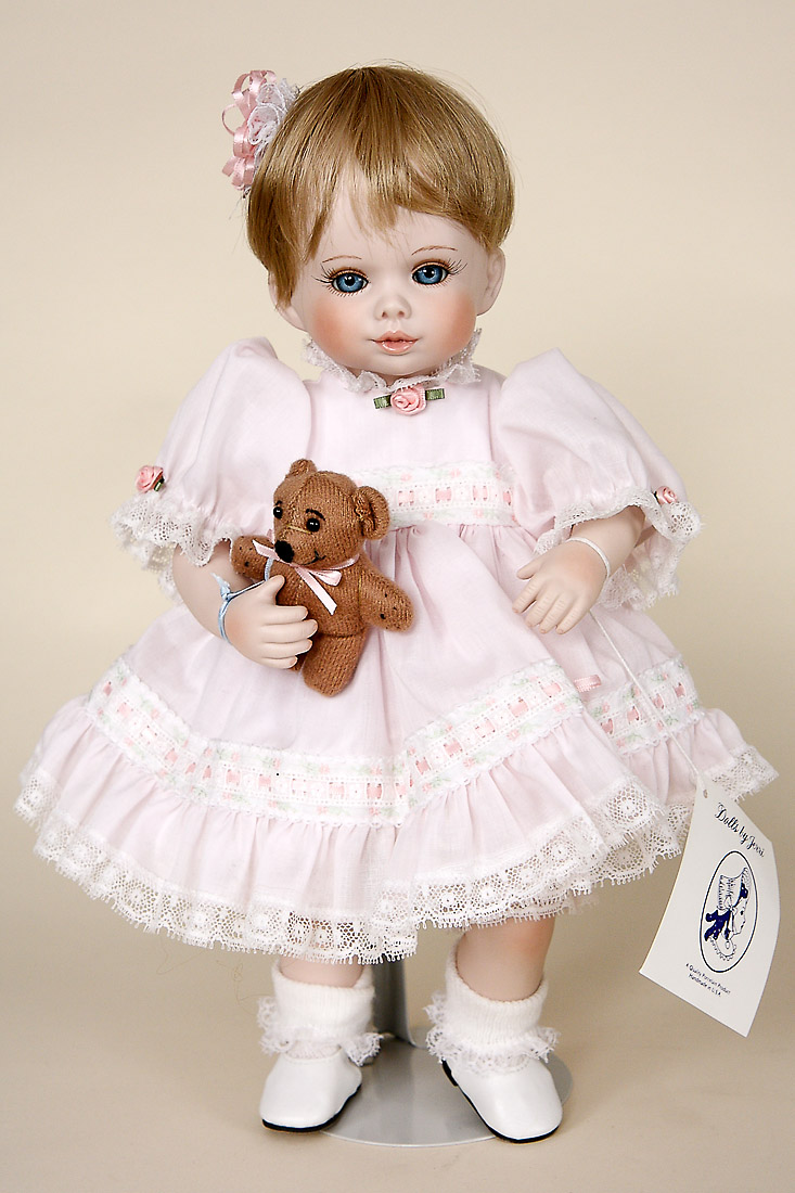 Tina And Bo Porcelain Limited Edition Collectible Doll