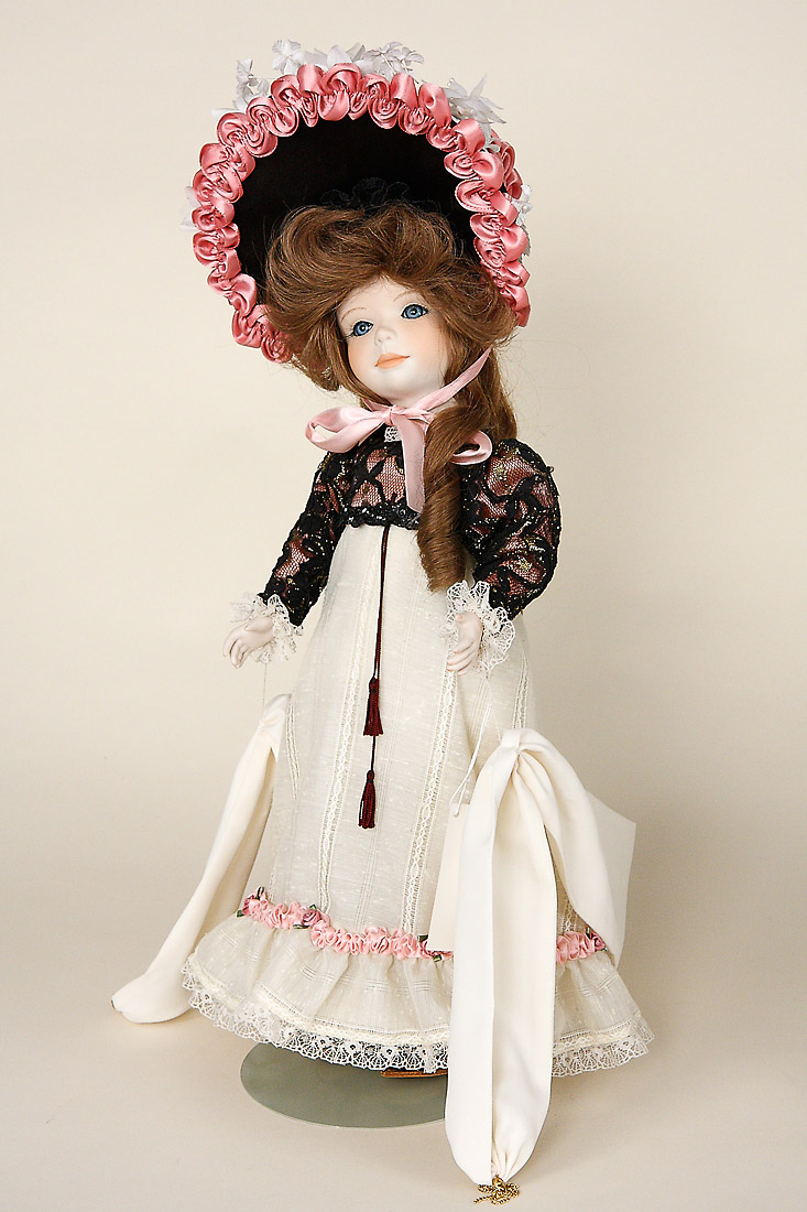 Sylvie Porcelain Limited Edition Collectible Doll By