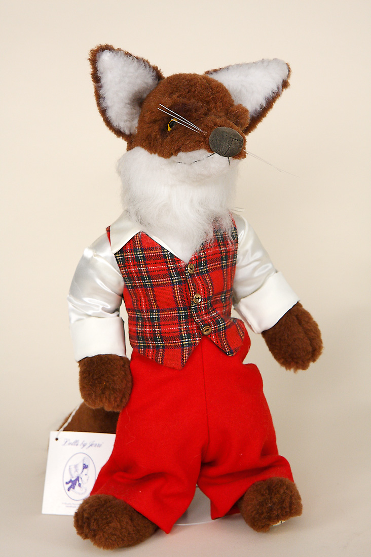 Brer Fox Plush Limited Edition Bears And Plus By Jerri