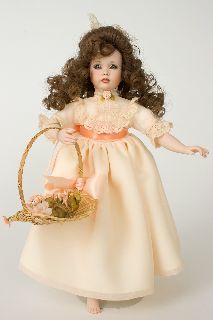 Rosebud Porcelain Limited Edition Art Doll By Patricia Rose