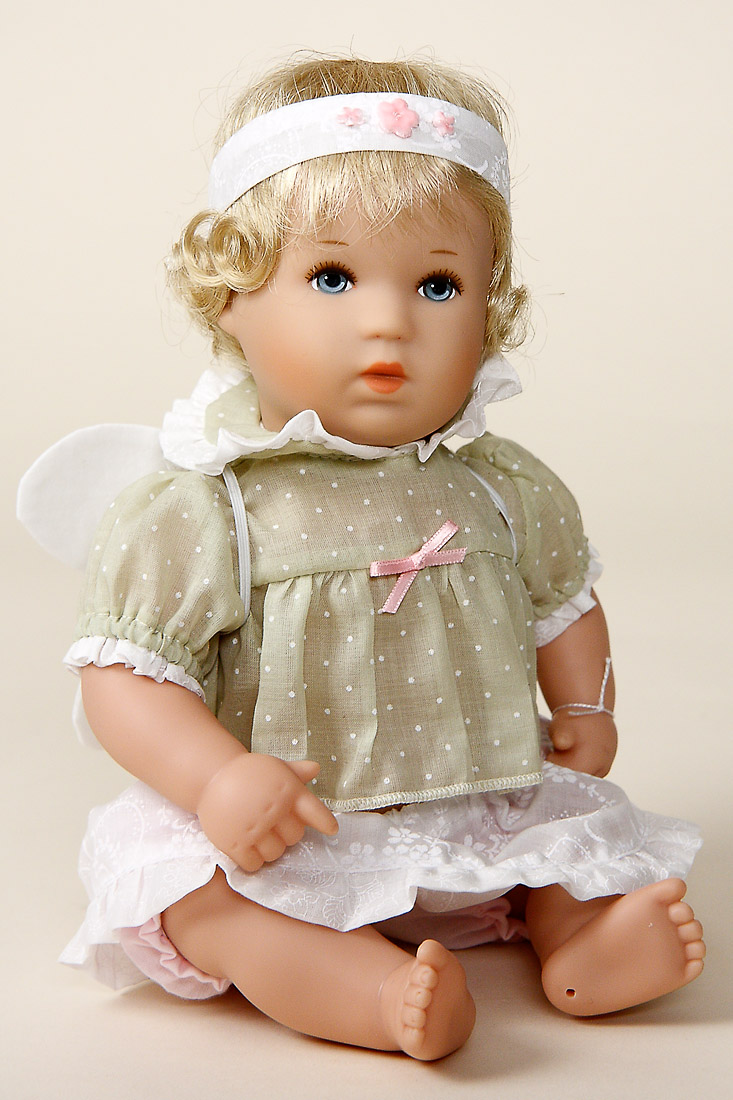 Fairy Child Bath Baby Vinyl Open Edition Play Doll By