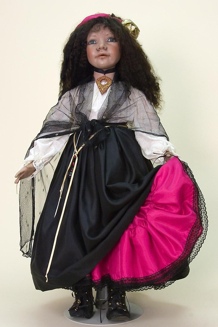 Maruska Porcelain Soft Body Limited Edition Art Doll By