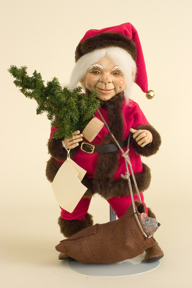 Jolly Old Elf Santa No 6 Resin Limited Edition