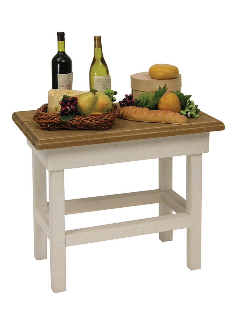 Wonderful Wine And Cheese Table   Doll Furniture, Accessory By Byersu0027 Choice, Ltd.
