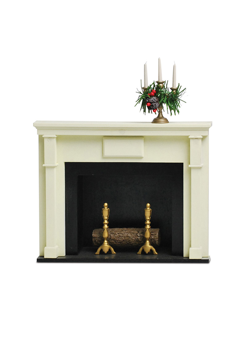 Beautiful Fireplace With Candelabrum   Doll Furniture, Accessory By Byersu0027 Choice,  Ltd.