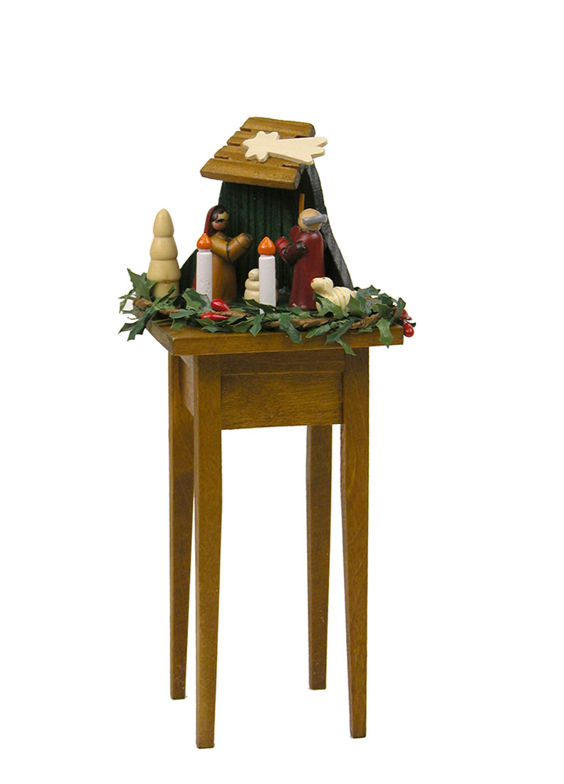 Nativity Table   Collectible Limited Edition Doll Furniture Accessory By  Byersu0027 Choice, ...