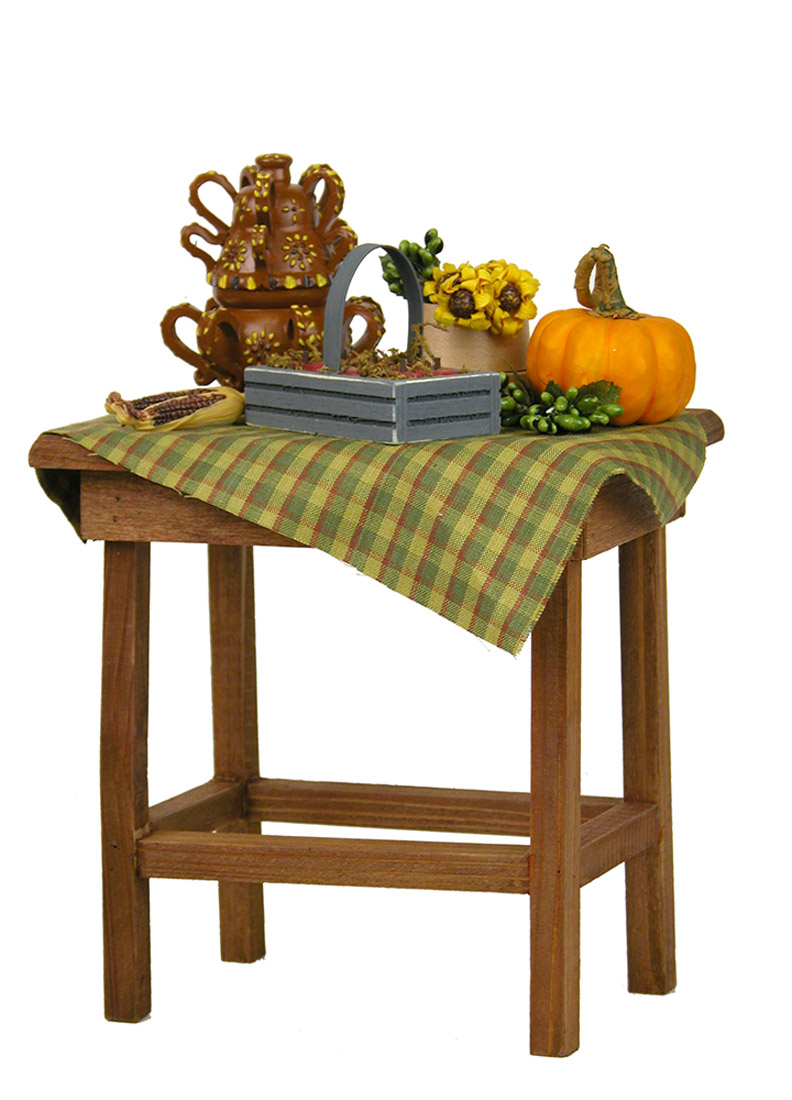 Beau Harvest Table   Collectible Limited Edition Doll Furniture Accessory By  Byersu0027 Choice, ...