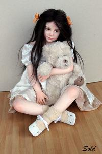 """Elisa Gallea art doll """"My Sweetie"""" full view"""