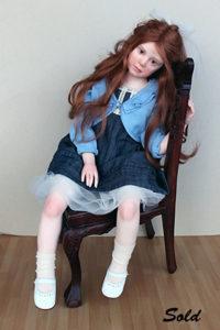 "Elisa Gallea OOAK art doll ""After Party"""