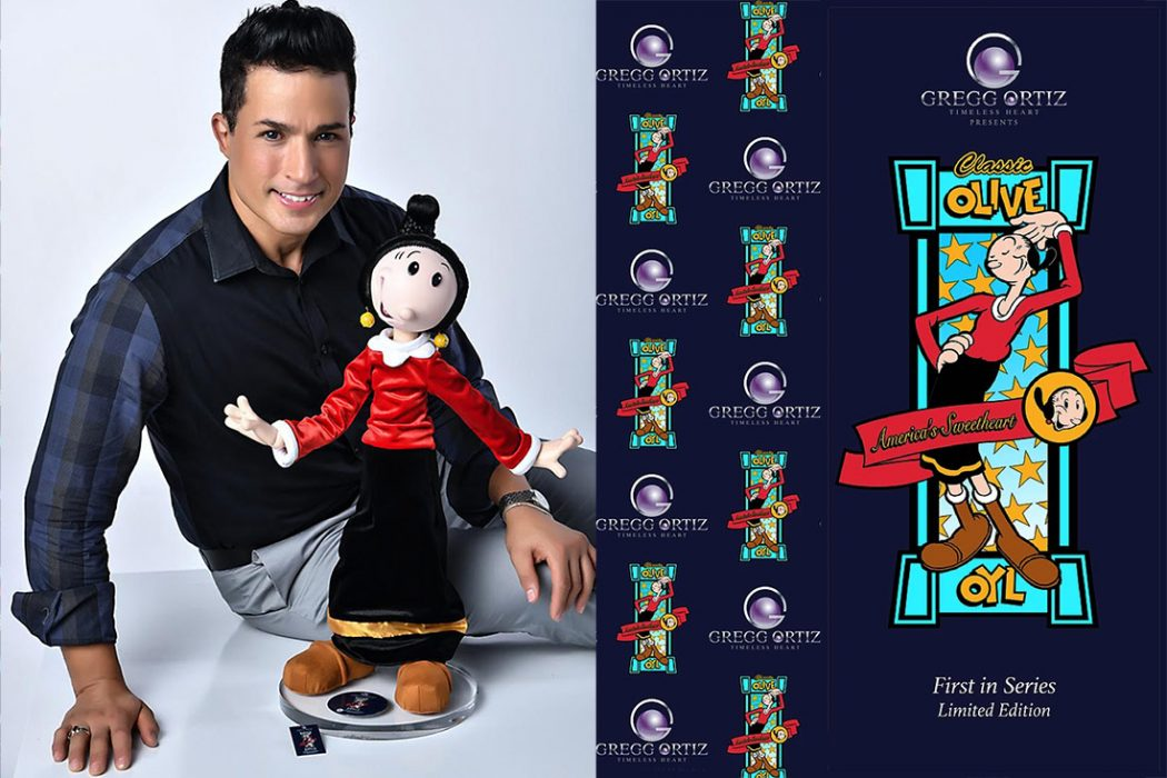Image of the post: Olive Oyl limited edition art doll by Gregg Ortiz