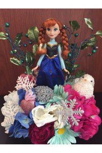 Anna from Frozen arrangement