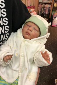 Doll collecting photo of Joshua reborn