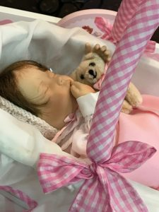 Photo of Sweet Pea, Dear Little Dollies Baby New Year 2019 doll.