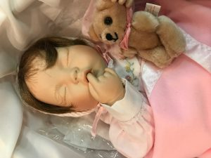 Photo of Sweet Pea, Dear Little Dollies Baby New Year Doll 2019