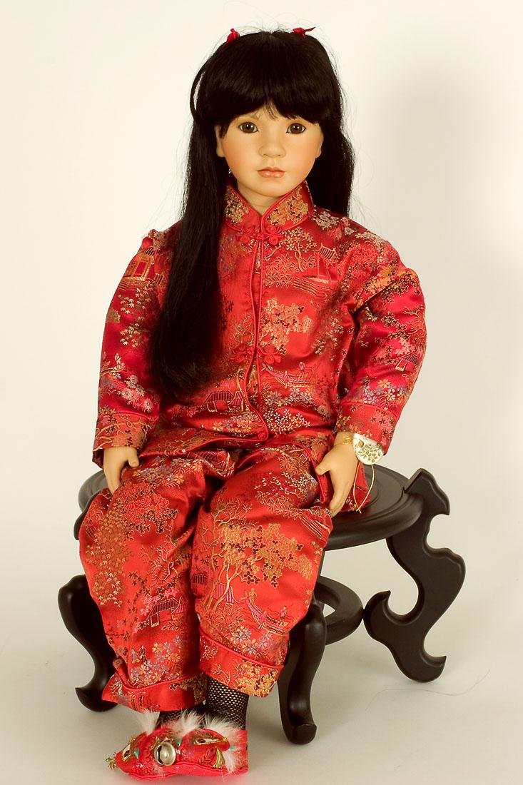 Chinese Doll Dolls & Bears Art Dolls-ooak