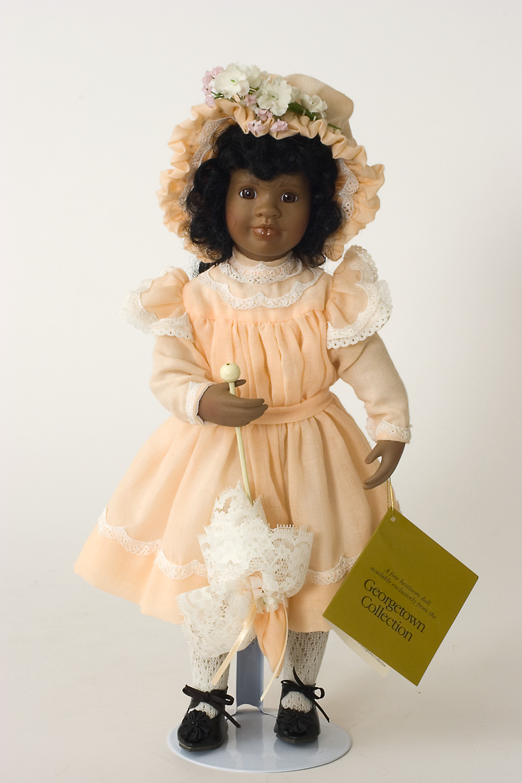 Rachel Williams Porcelain Soft Body Collectible Doll