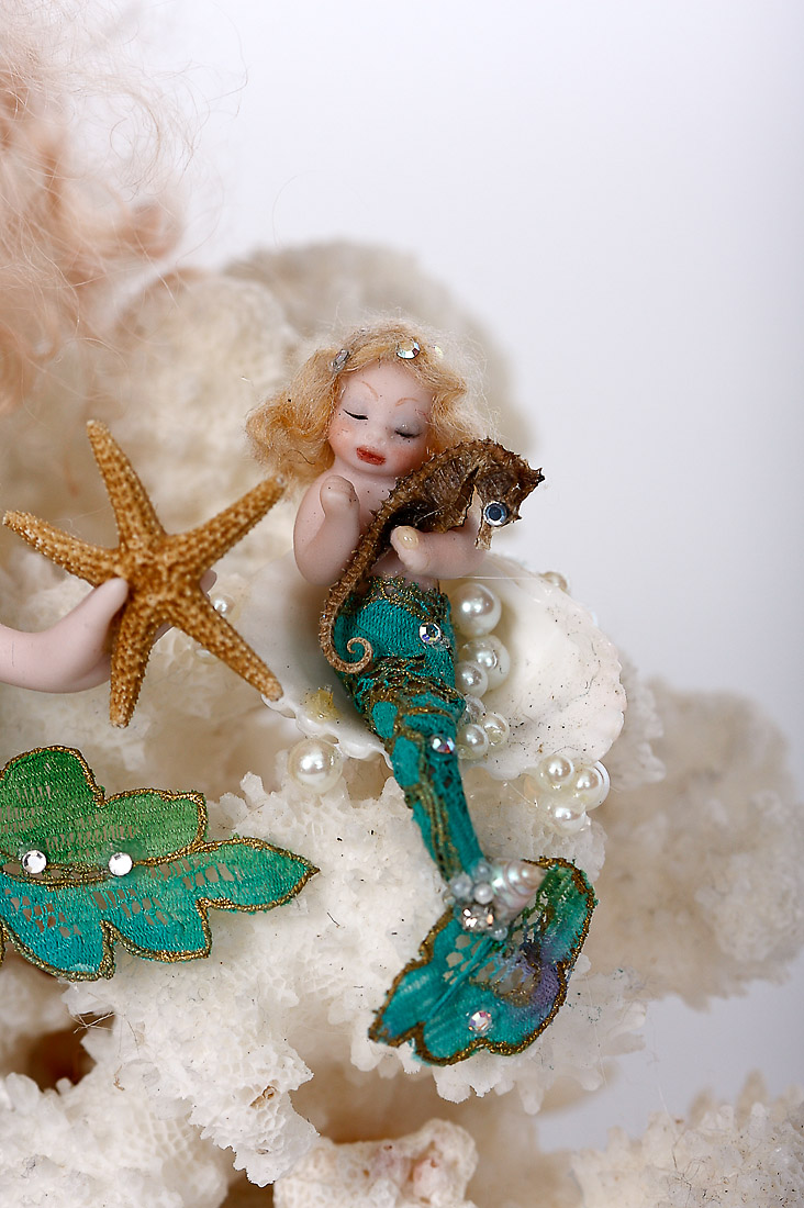 Porcelain One Of A Kind Art Doll By