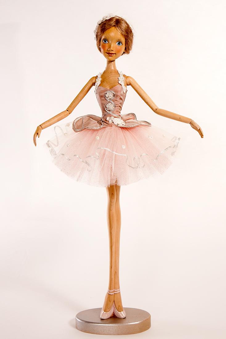 Dolls Art Dolls Flamingo Ballerina Off To The Ballet