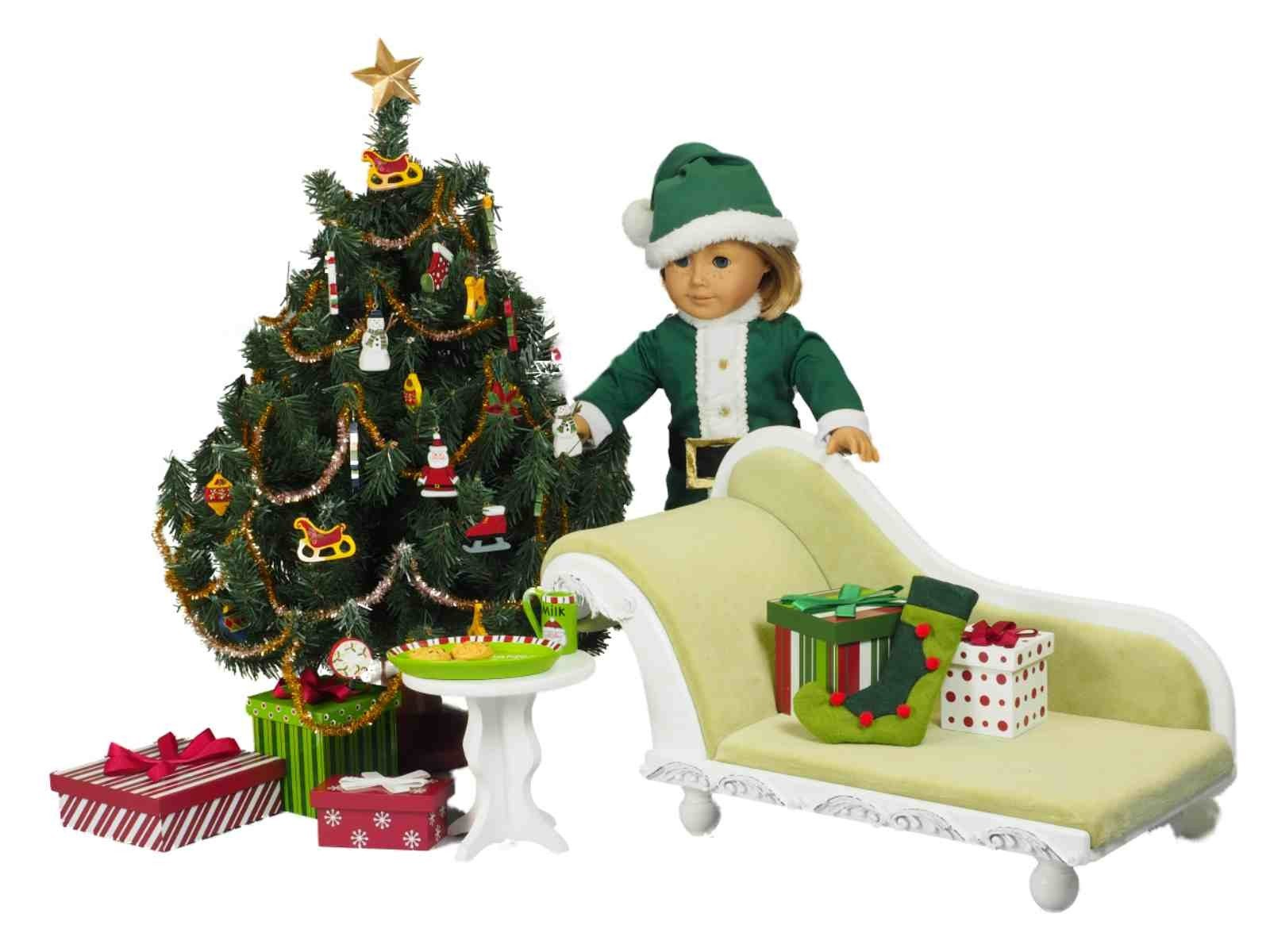 night before christmas accessory set for american girl dolls - Christmas Decorations For American Girl Dolls