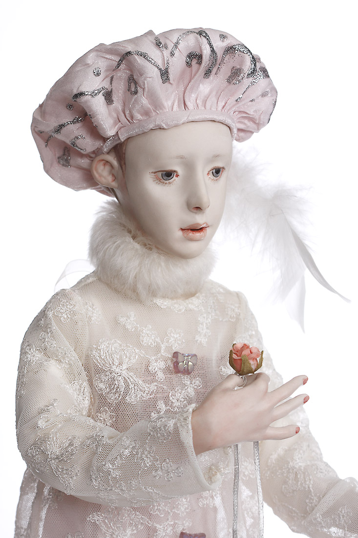 The Gift Wax Over Porcelain Art Doll By Ardis Shanks
