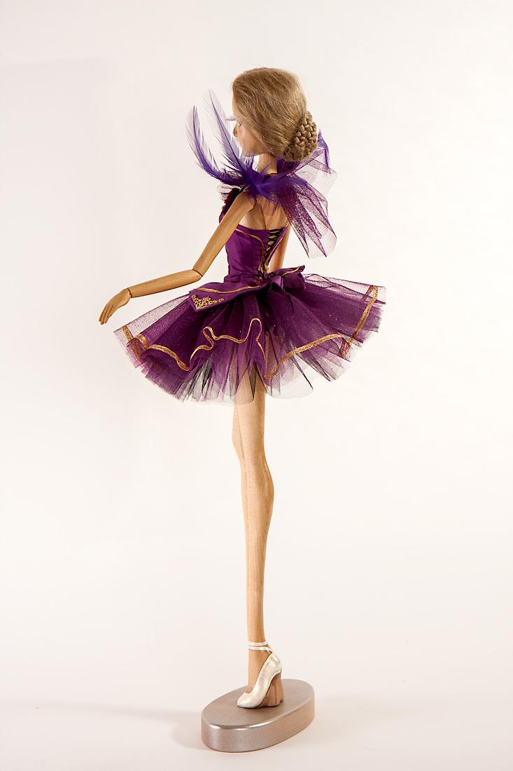 Dolls Art Dolls Violet Ballerina Off To The Ballet