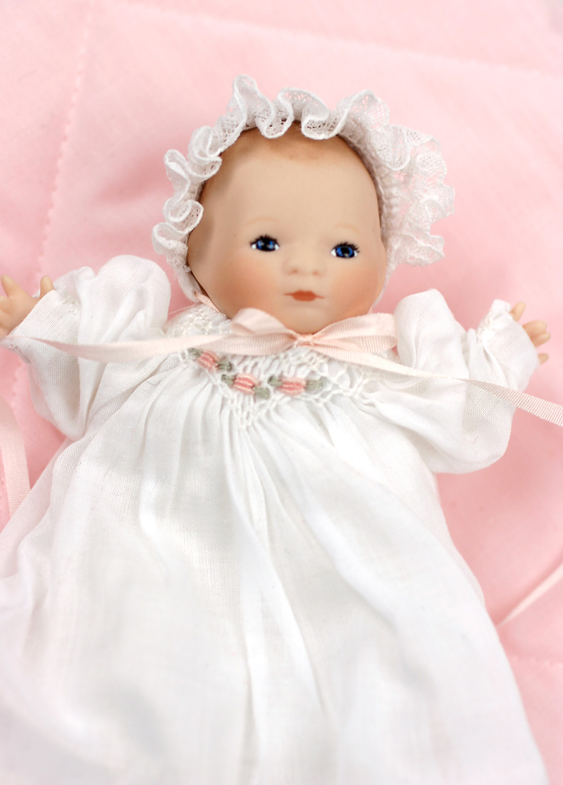 Tiny Bye Lo Baby Porcelain Limited Edition Collectible
