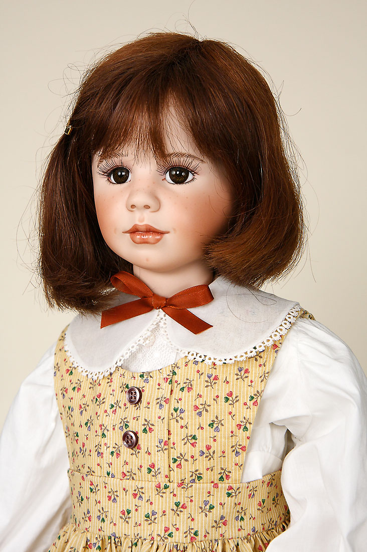 Miss Anne Porcelain Soft Body One Of A Kind Art Doll By