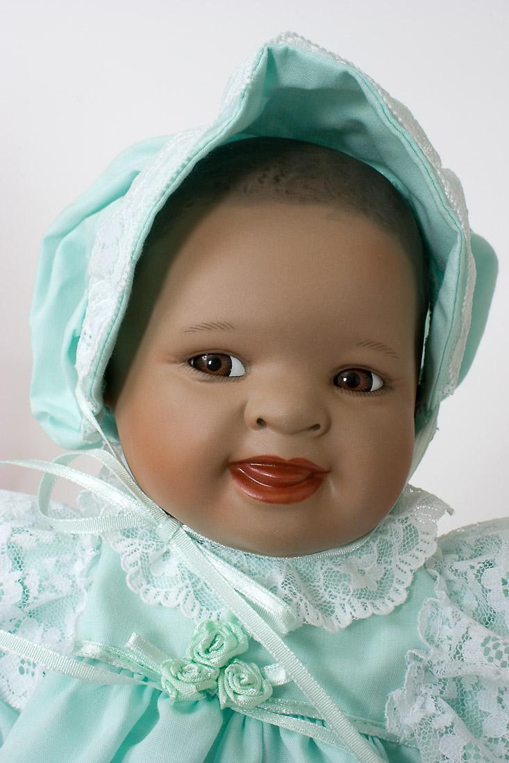 Dolls Collectible Dolls Shawna Porcelain African American Baby