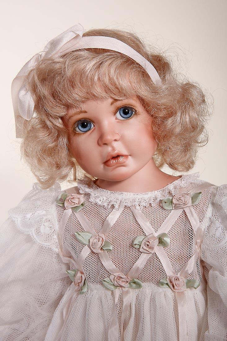 Eloise Porcelain Soft Body Art Doll By Karen Blandford