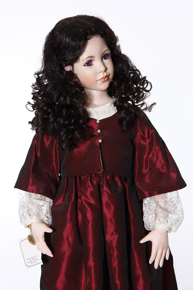 Christiane Porcelain Soft Body Limited Edition Art Doll