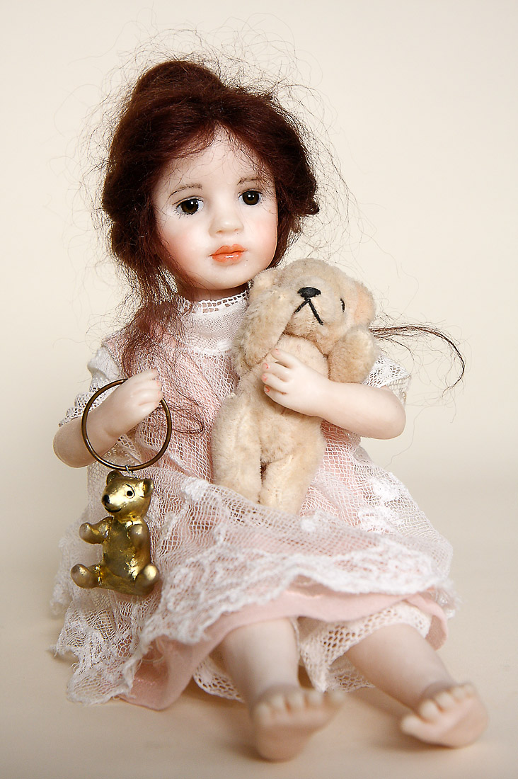how to make ooak polymer clay dolls
