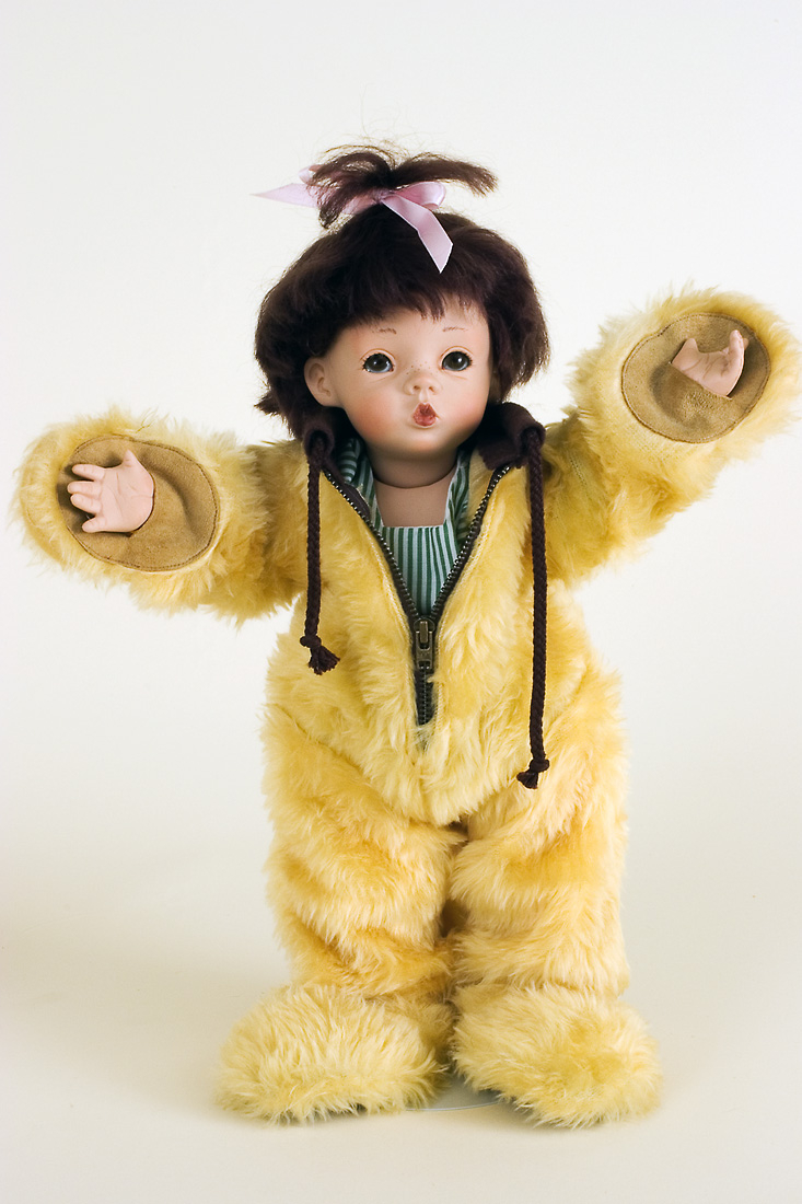Babsie - porcelain soft body limited edition art doll by ...
