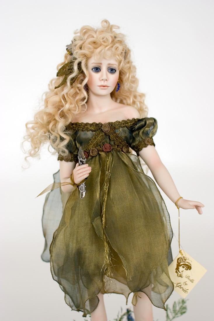 Blue Fairy 3 Porcelain Soft Body Art Doll By Paulette