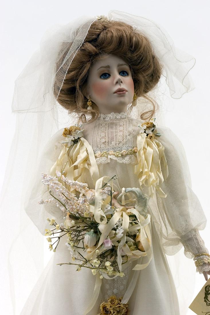 Juliet Bride Porcelain Soft Body Art Doll By Paulette Aprile