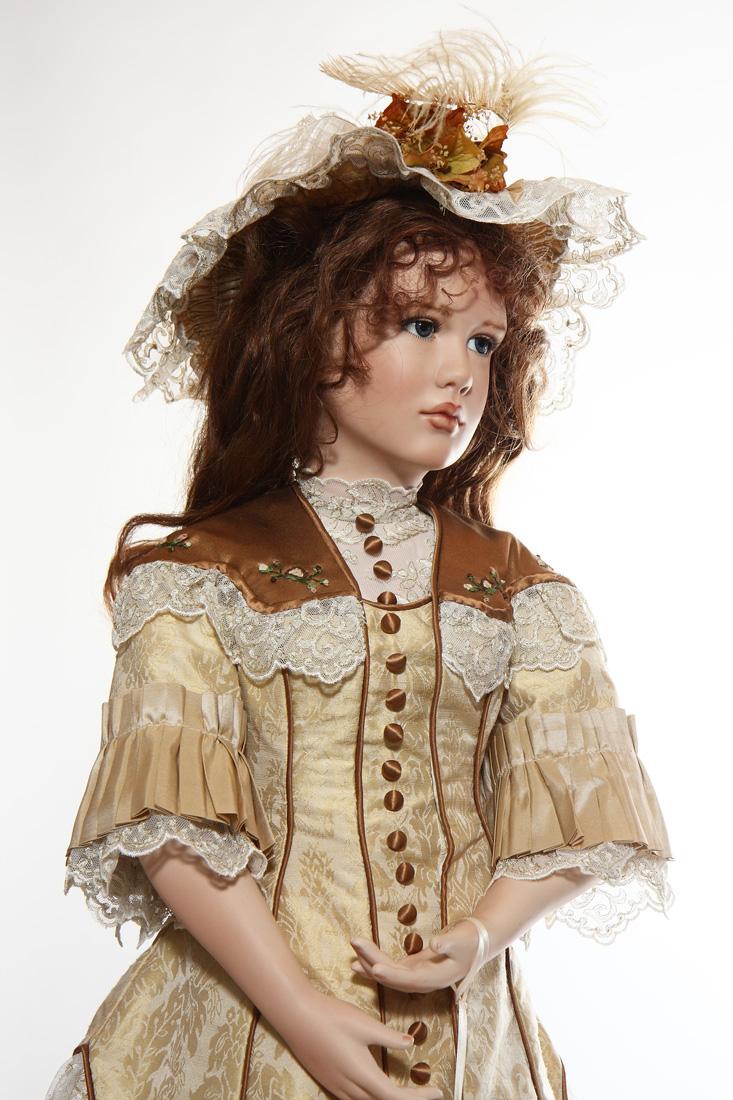 Dominique Porcelain Art Doll By Angela Barker