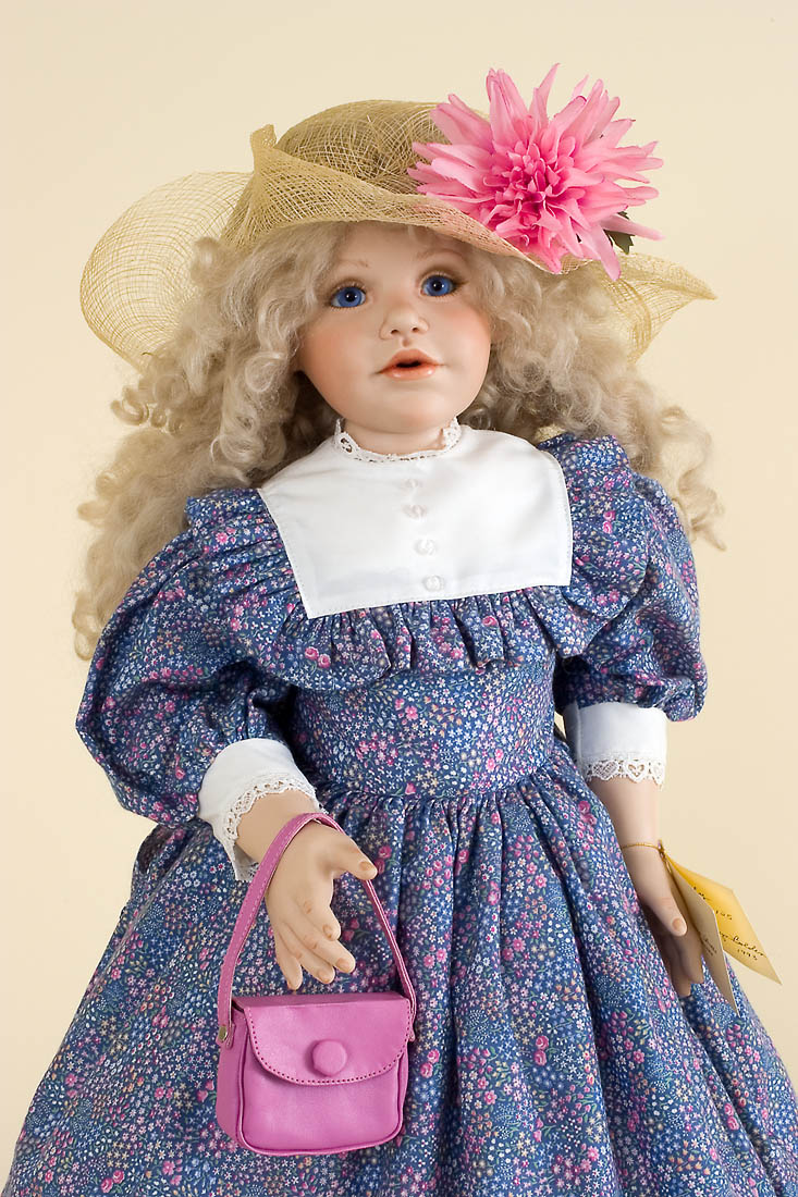 Abby - Porcelain soft body Collectible Doll