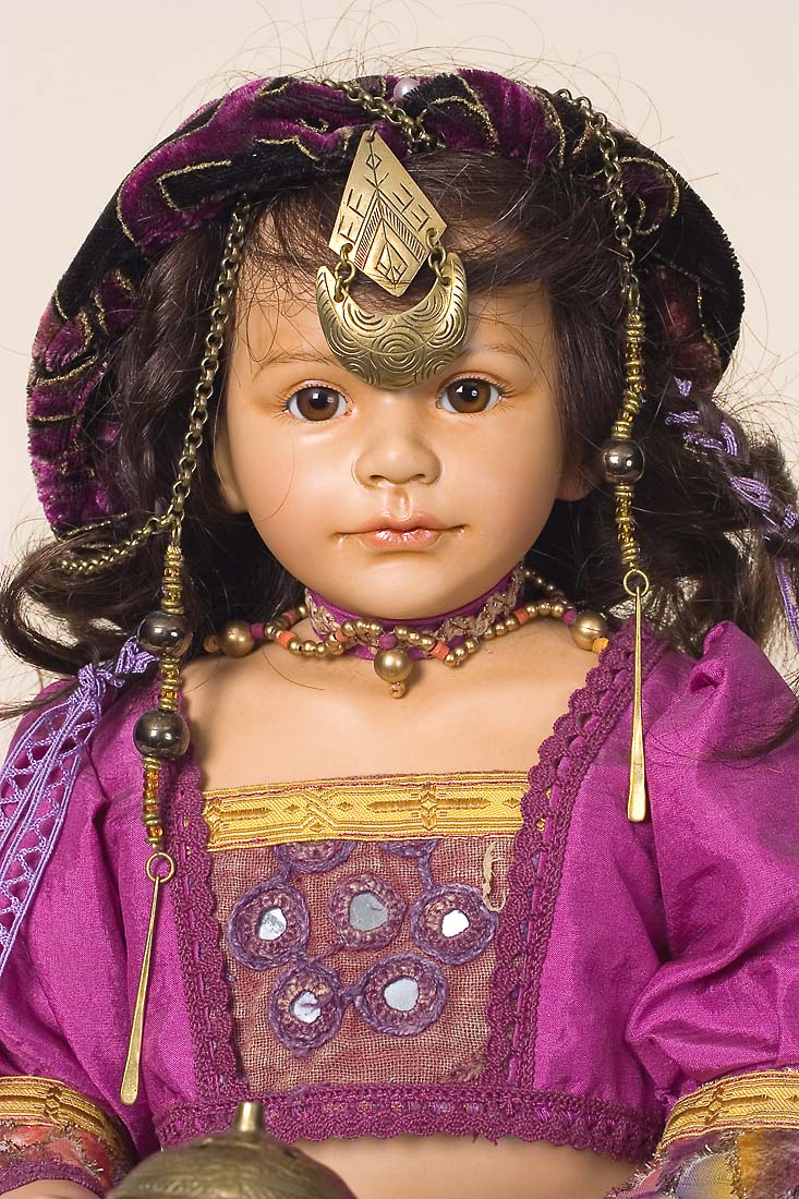 Jasmine Porcelain Soft Body Art Doll By Maja Bill Buchwalder