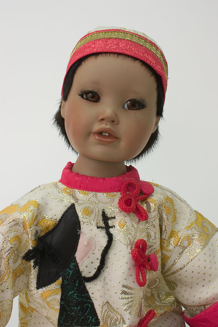 porcelain dolls images trinh porcelain soft body limited edition art doll by 5524