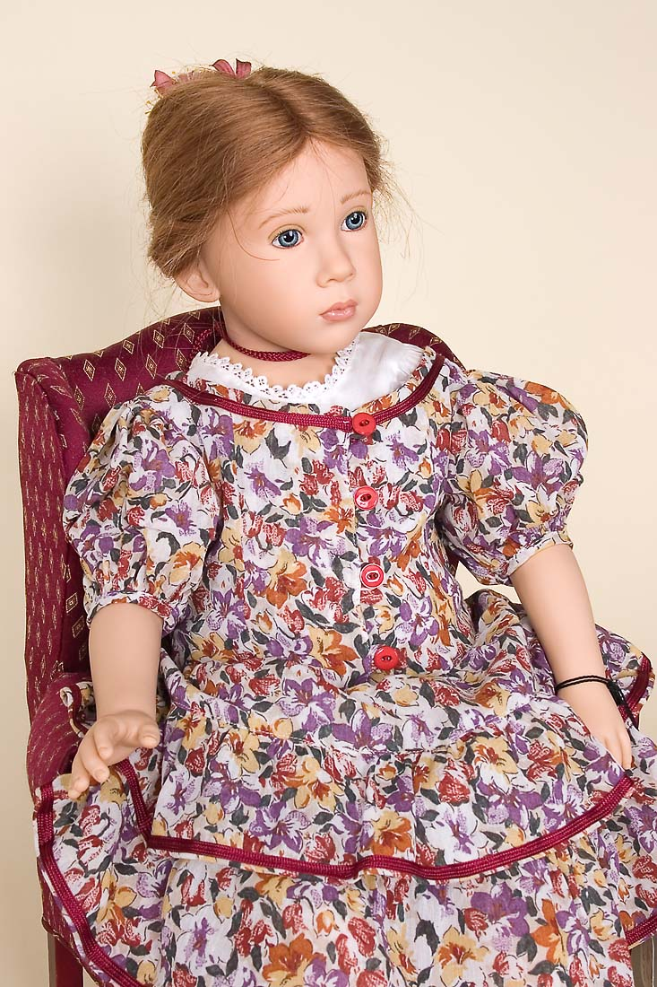 Lilly I Vinyl Soft Body Limited Edition Collectible Doll